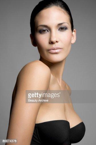 Woman in bra : Stock Photo