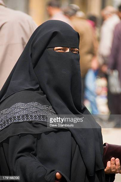 CONTENT] woman in burqa Cairo Egypt