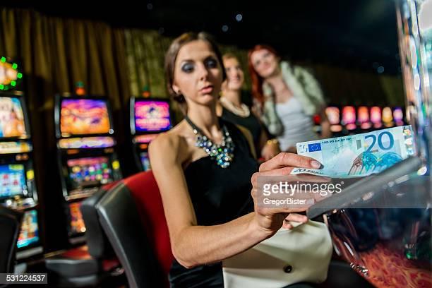 Woman in casino