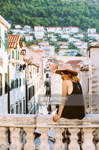 Woman in Dubrovnik