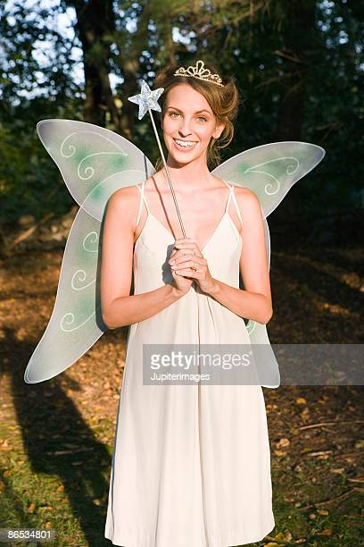 Woman in fairy costume