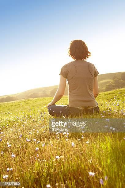 Femme dans un cadre Rural