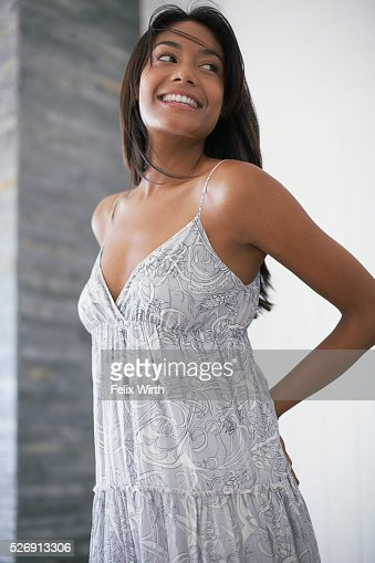 Woman in sundress : Photo