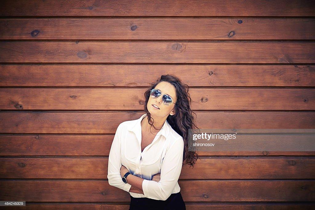 Woman in sunglasses : Stock Photo