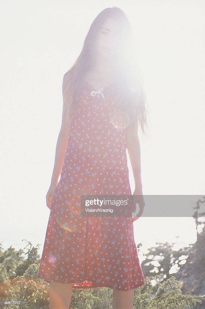 Woman in Sunlight : Stock Photo