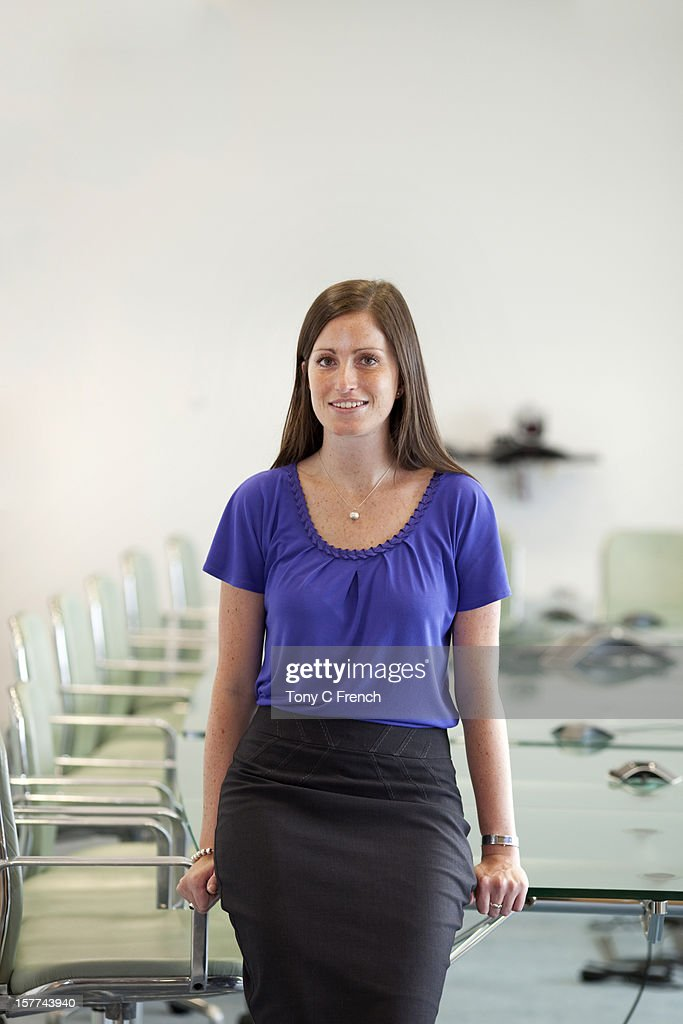 woman in the boardroom : Stock Photo