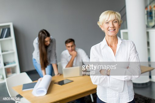 Woman in the office : Stock Photo