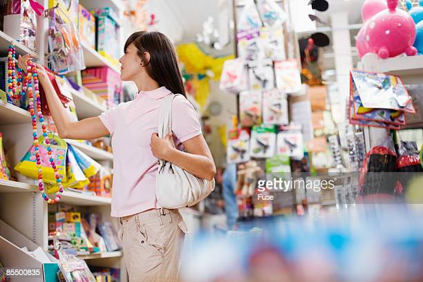 Woman in Toy Store