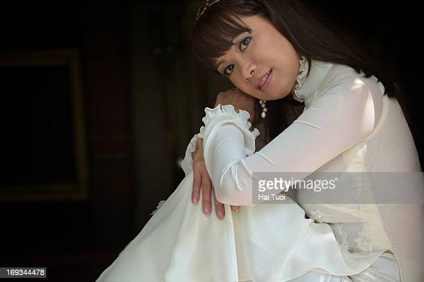 Woman in Vietnamese Traditional Dress - Ao Dai