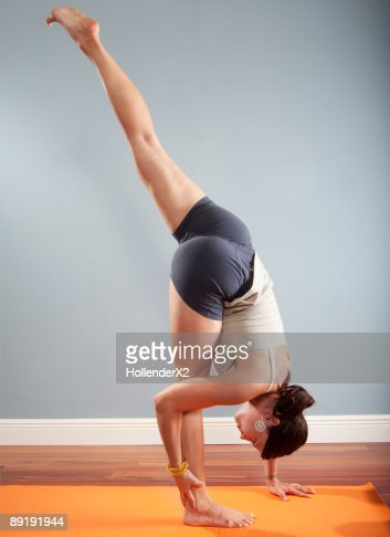 Person Single Yoga Poses Hard