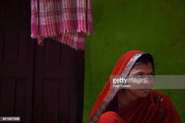 A woman is seen outside her home in the Fakir Bagan slum area of Kolkata Founded in 2004 Calcutta Kids is a notforprofit public health organization...