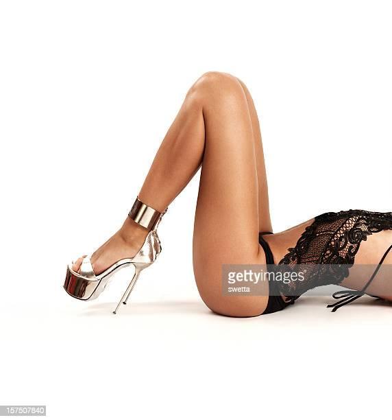 Femme jambes