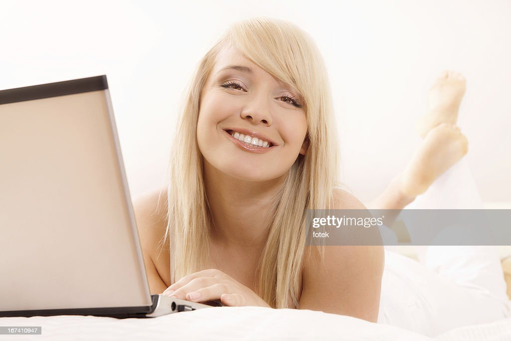 Woman looking at camera : Stock Photo