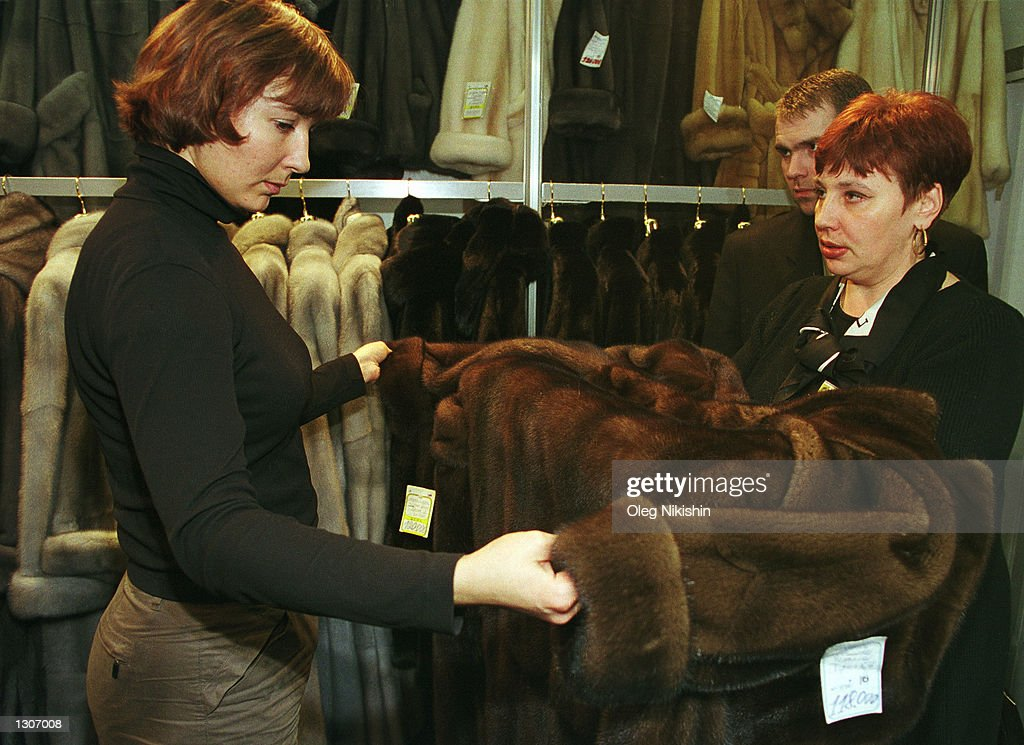 Fur Coats Popular in Russian Winter Pictures | Getty Images