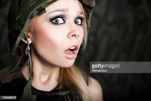 Woman military