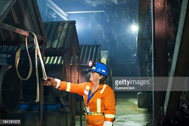 Woman Mine Worker