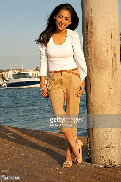 Woman near the Shore