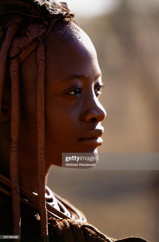 Woman of hima tribe, Namibia (near Opuwo)