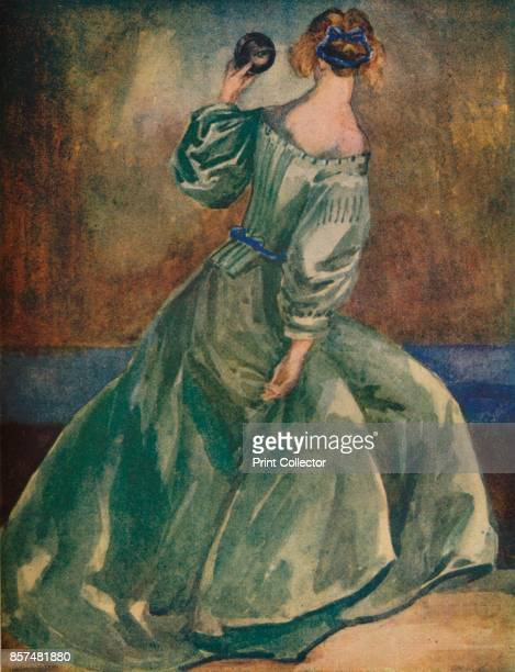A Woman of the Time of Cromwells' 1907 From English Costume painted and described by Dion Clayton Calthrop [Adam Charles Black London 1907] Artist...