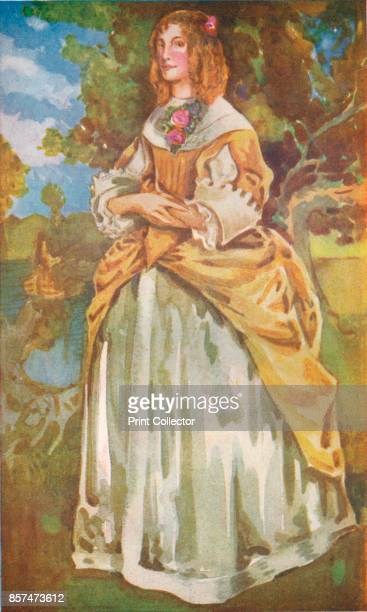 A Woman of the Time of James II' 1907 From English Costume painted and described by Dion Clayton Calthrop [Adam Charles Black London 1907] Artist...