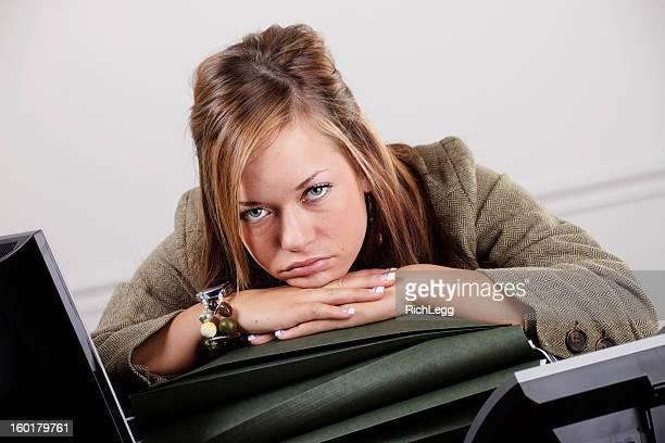 Woman Office Worker