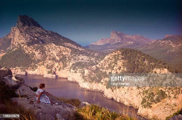 Woman on Holiday at Mallorca
