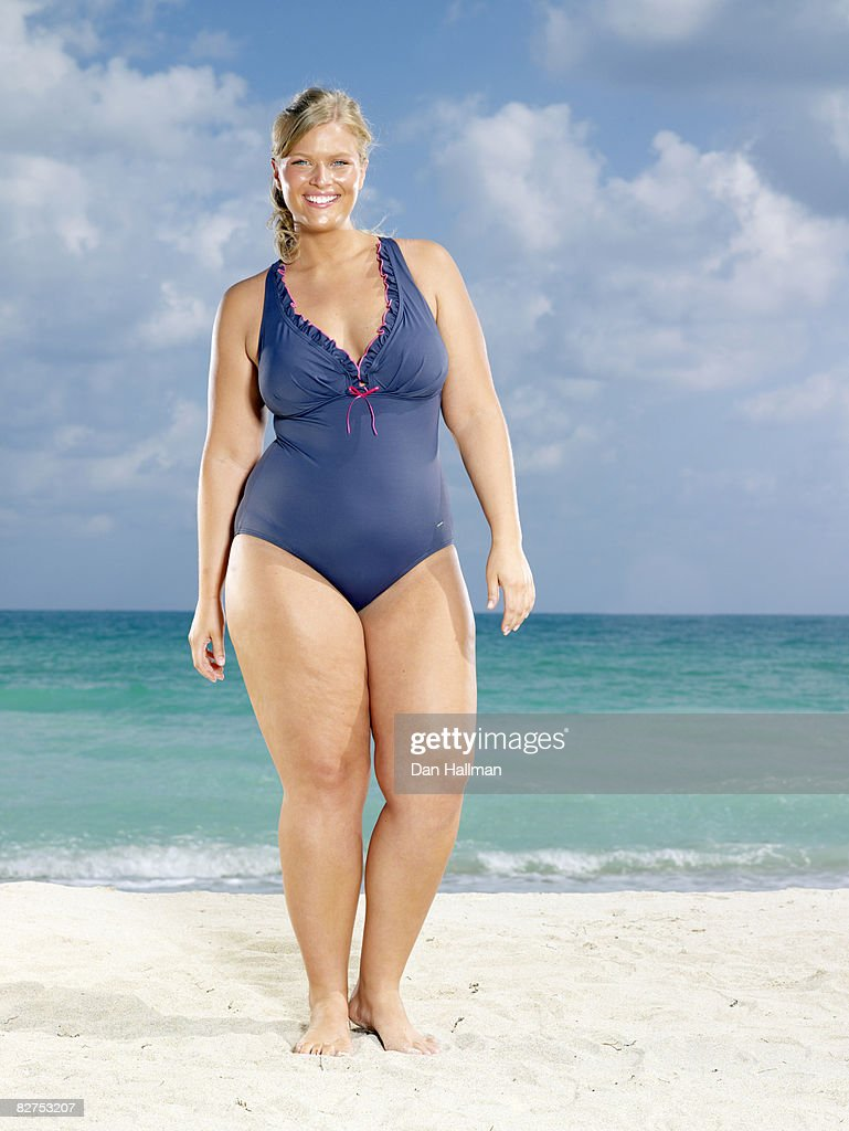 Woman on the beach : Stock Photo