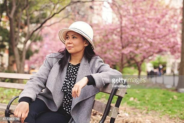 Woman Portrait in Washington Square Park
