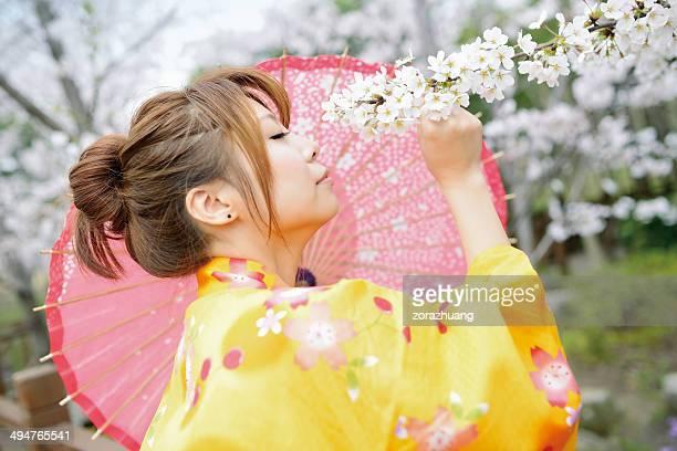 Woman Portrait & Sakura