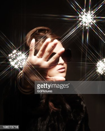 Woman Posing for Camera : Stock Photo