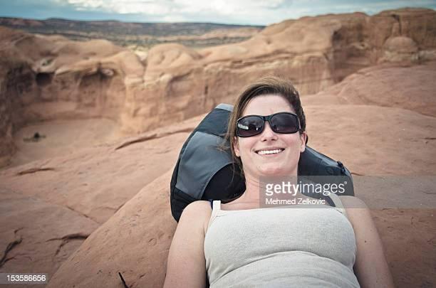 Woman relaxing