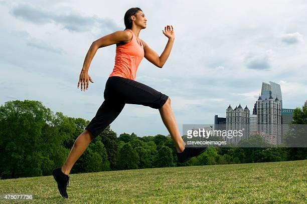 Woman runner.