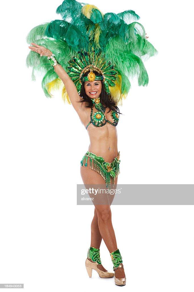 Woman Samba Dancer