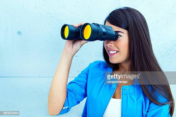 Woman searching new opportunities