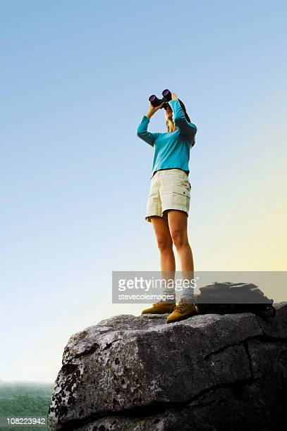 Frau suchen auf Mountain Top