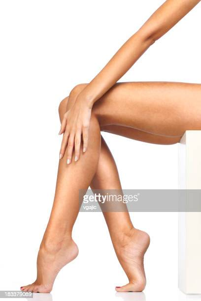 Woman Sexy Smooth Legs
