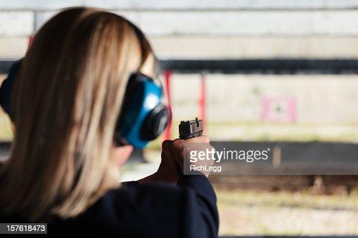 Video Of Woman At Shooting Range 107