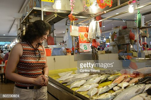 Tiong bahru stock photos and pictures getty images for Fish store reno