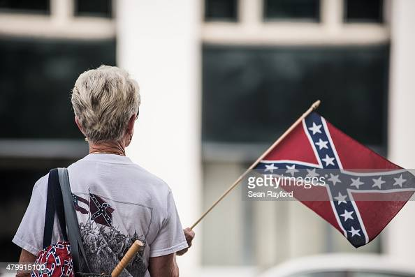 Flag At The South Carolina State House July 8 2015 In Columbia South