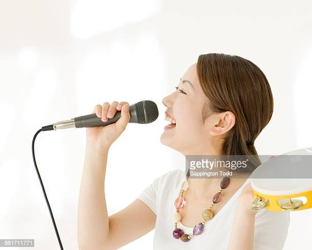 Woman Singing Song