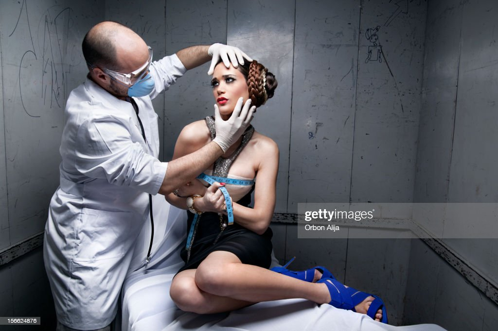 Woman surgery : Stock Photo