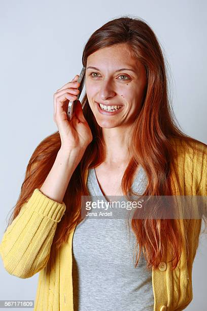 Woman Talking On Mobile Device