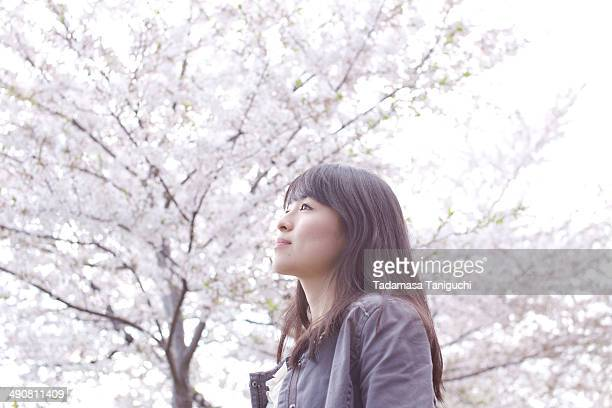 Woman thinking about her future