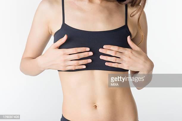 Woman Touching Bust