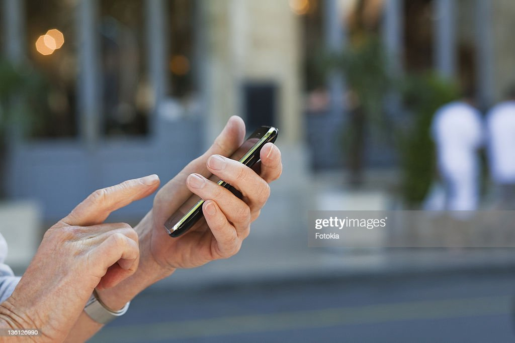 Woman tourist in France : Stock Photo