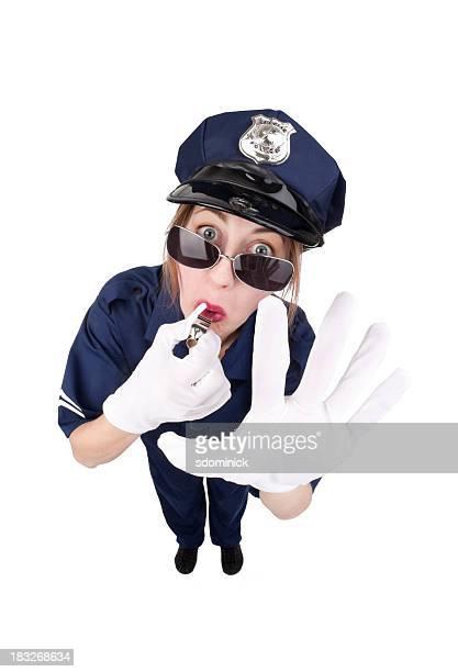 Woman Traffic Cop