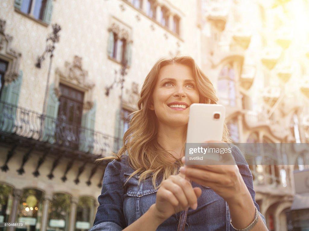 Woman traveling. : Stock Photo