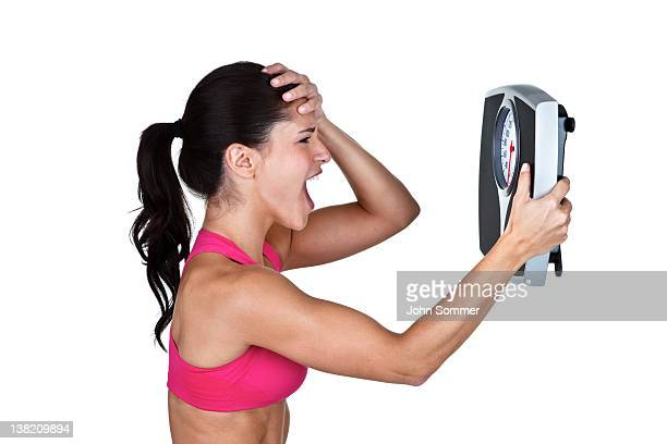 Woman unhappy with weight loss results