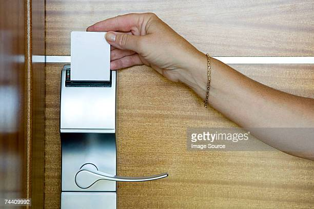 hotel room door open stock photos and pictures getty images