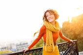 Woman Visiting Montmartre, Paris